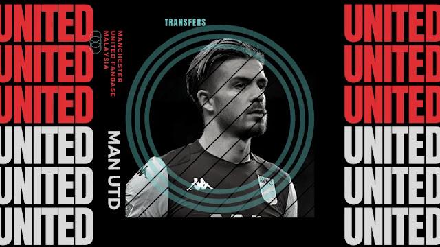 Manchester United Berminat kepada Grealish
