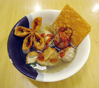 Makanan Khas Indonesia bakso - bakso malang