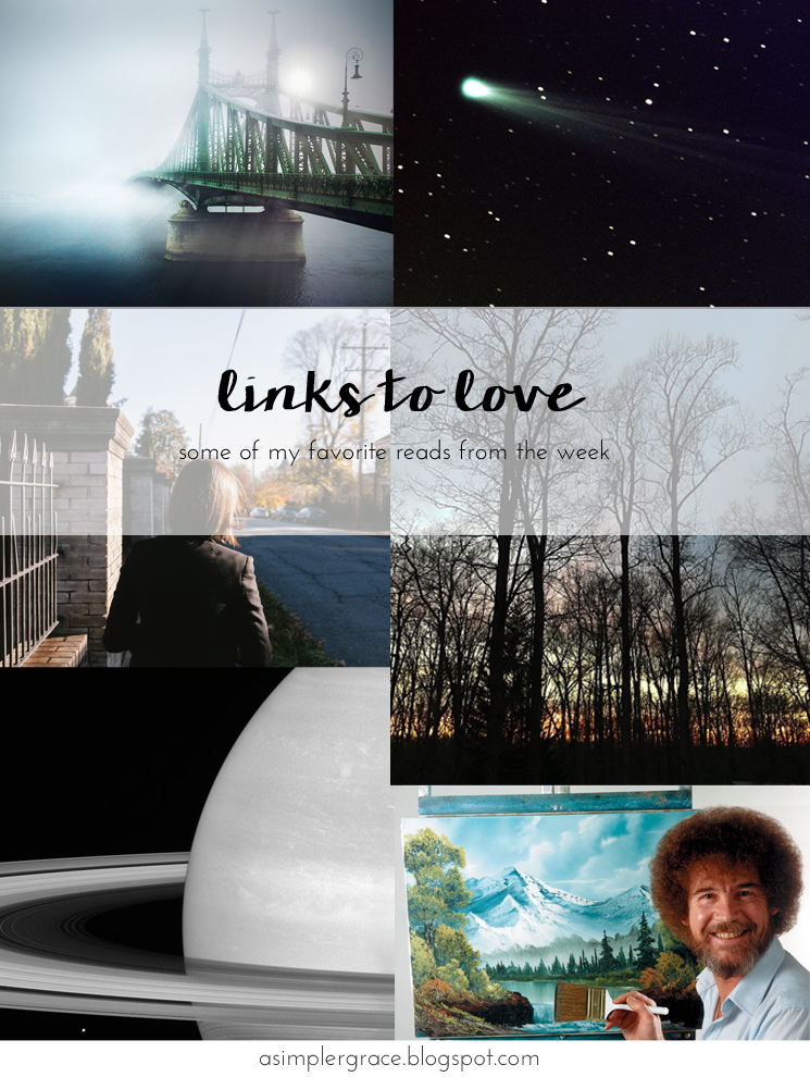My favorite reads from the week #linkstolove #fridayfavorites Links to Love | 82 - A Simpler Grace