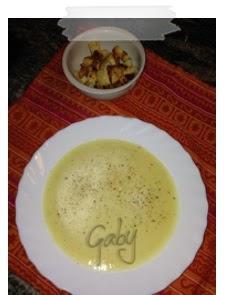 Zuppa di patate e porri... ovvero la Potage Parmentier