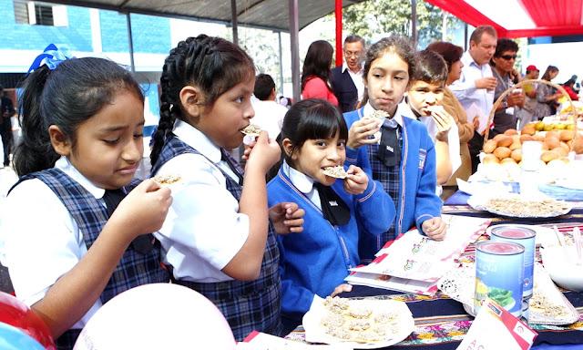 Quioscos y comedores de colegios no podrán vender comida chatarra