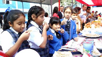 Venta de comida chatarra en colegios está prohibida