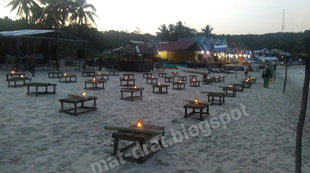 Harga Makan Murah di Long Beach Pulau Perhentian Terengganu