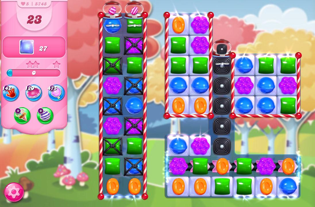Candy Crush Saga level 5748