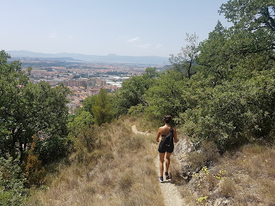 Overlooking the Pamplona Basin