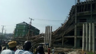 Abeokuta: One Confirmed Dead in a Collapsed Ongoing Building in Ogun
