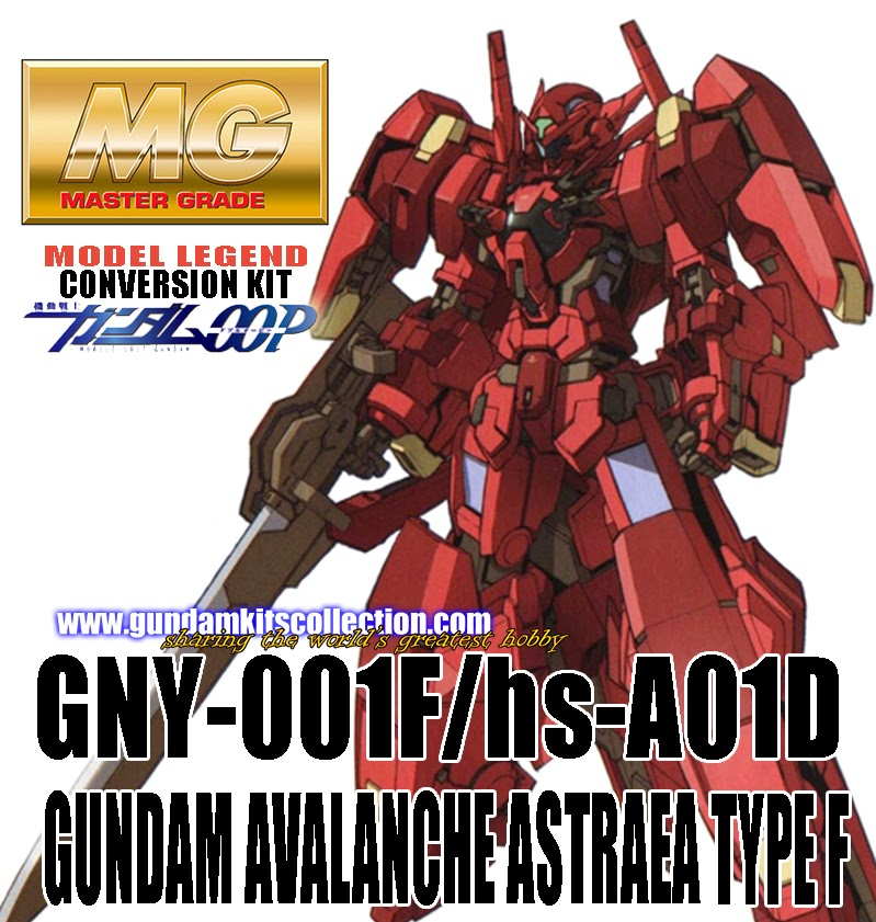 Model Legend: 1/100 Gundam Avalanche Exia Dash Resin Conversion Kit