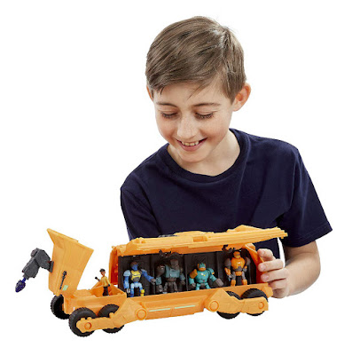 ROBOZUNA Vehículo Team Veredus Transporter + Figura de Ariston  Producto Oficial Serie Netflix 2019 | A partir de 4 años  COMPRAR ESTE JUGUETE