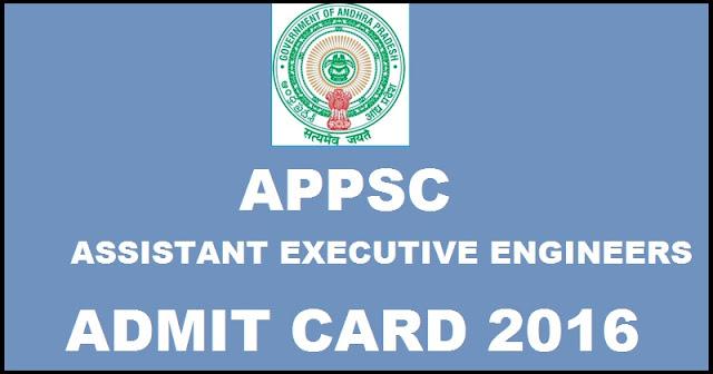 APPSC AEE 2016