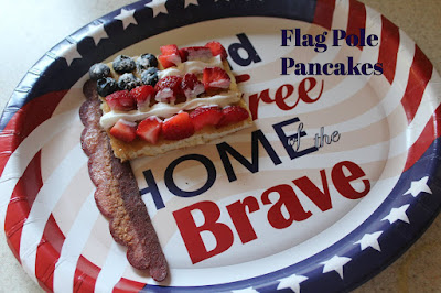 Flag Pole Pancakes