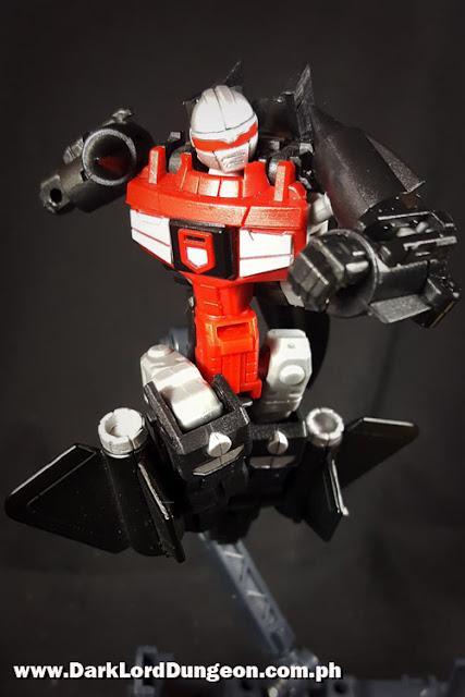 Machine Robo Series 06 Blackbird Robo Snoop Gobot Review
