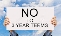 Image result for Image of 3 year terms