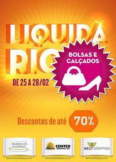 Shoppings promovem a 'Liquida Rio'