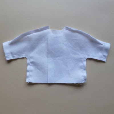 Sew underarm