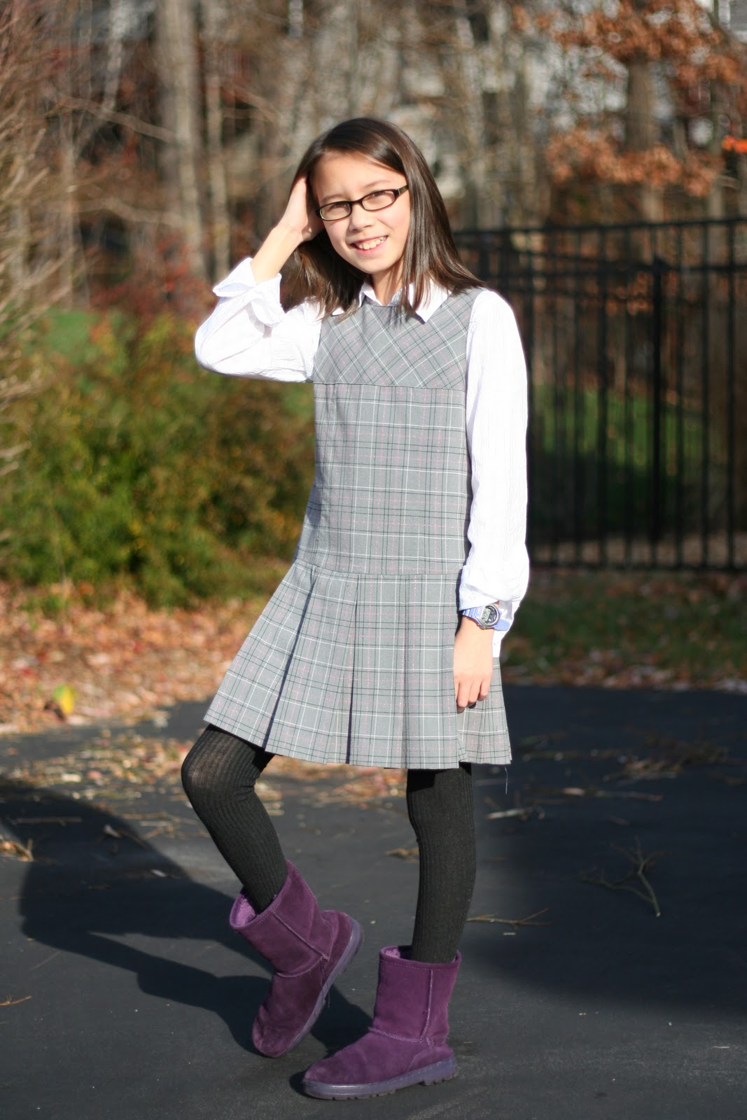 S B S Style Files Ootd Schoolgirl On Sunday