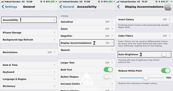 Cara Mematikan Auto-Brightness di iOS 11 Dengan Mudah
