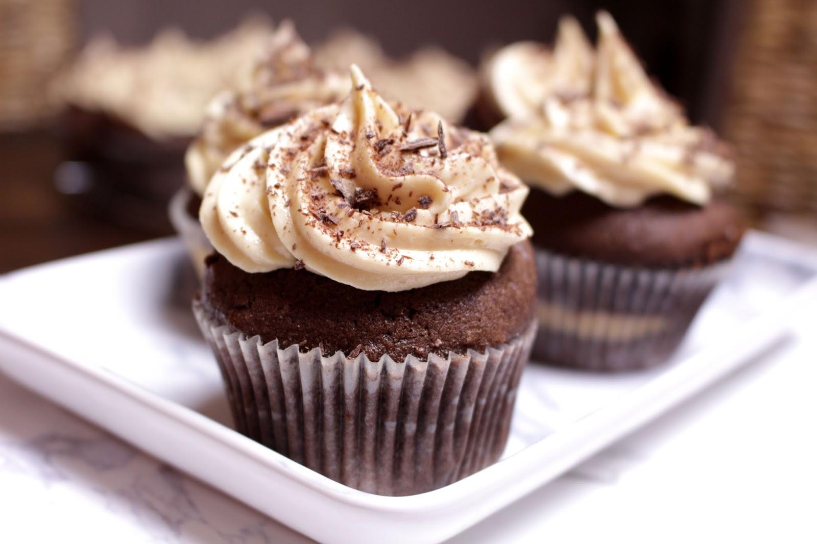 Cupcakes Chocolat & Beurre de Cacahuètes