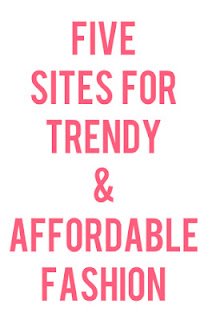 5 sites for trendy & affordable clothing #BudgetBliss