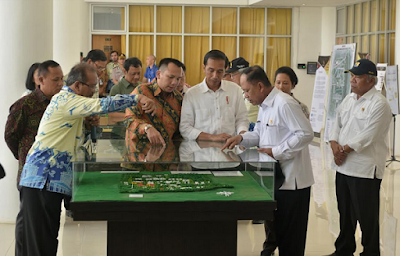 Presiden Jokowi dan Gubernur Ridho Ficardo Kunjungi ITERA
