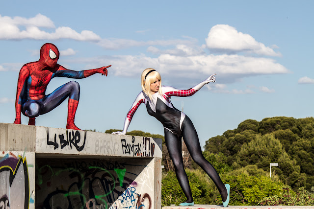Sesion Spiderman Gaudiramone Cosplay