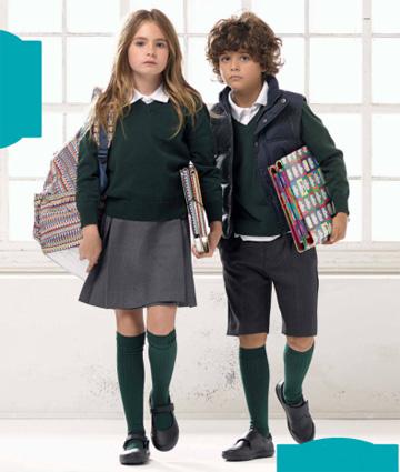 uniformes escolares El Corte Inglés la vuelta al cole