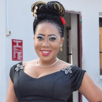 nollywood actress with uneven breasts