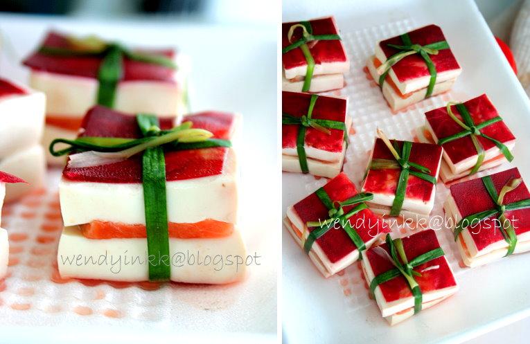Edible Christmas Tree Cake Decorations