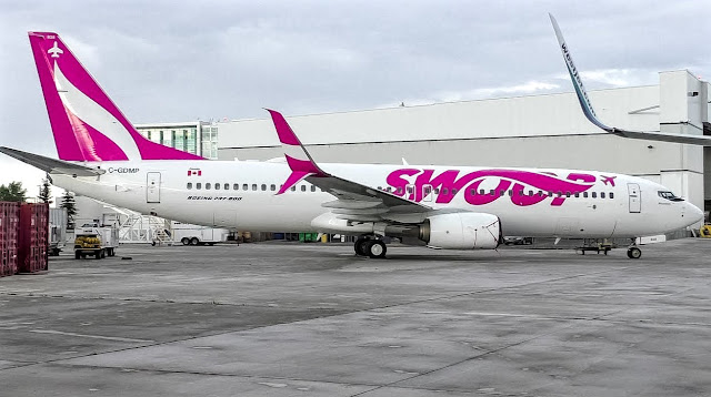boeing 737-800 swoop airlines