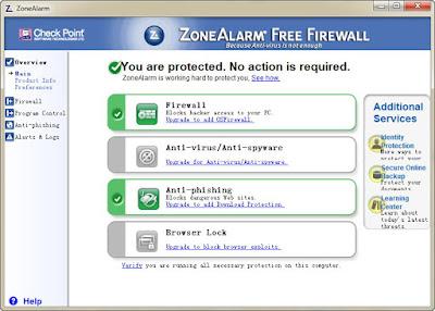 Download Zone Alarm Free Firewall