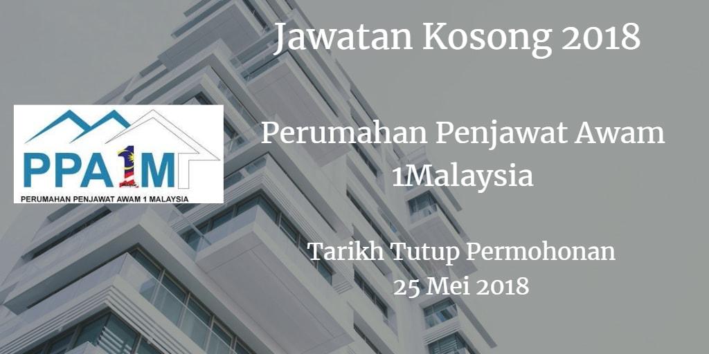 Jawatan Kosong PPAIM 25 Mei 2018