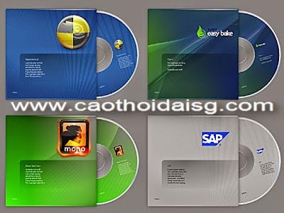 In nhãn đĩa CD, DVD các loại