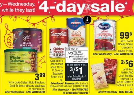CVS 4 DAY SALES Coupon Deals  5