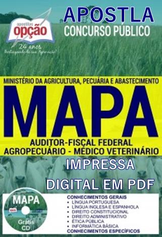 Apostila MAPA - Auditor-Fiscal Federal