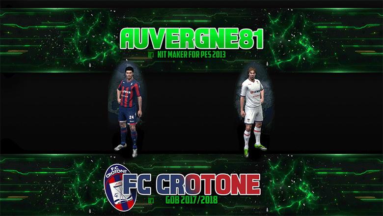 PES 2013 FC Crotone GDB 2017/2018 by Auvergne81