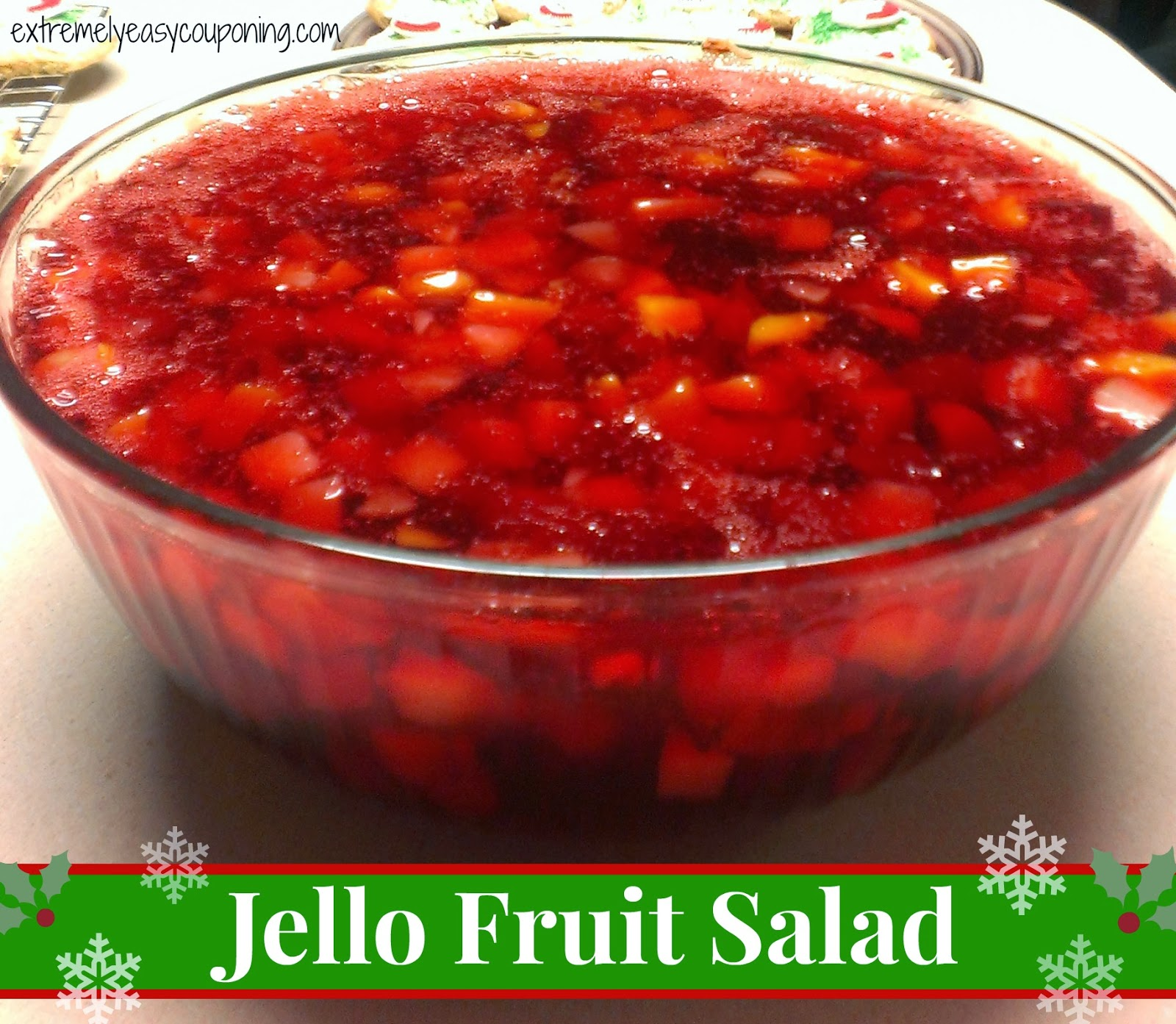 Extremely Easy Couponing: Jello Fruit Salad Recipe