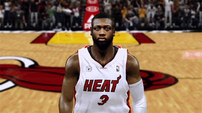 NBA 2K13 Dwyane Wade NBA Finals Miami Heat
