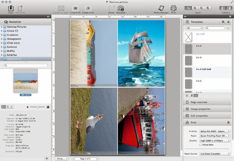 LaserSoft Offers PrinTao 8 Photo Printing Software for Epson