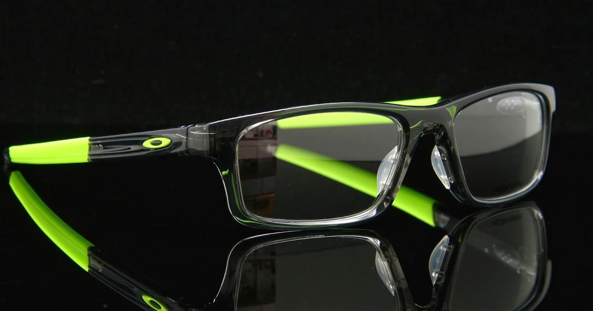 得恩堂眼鏡左營店: Oakley Crosslink Pitch ox8037-02 螢光綠 光學近視眼鏡 高雄得恩堂左營店
