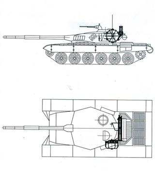 Комплекс для екстреного маскування військової техніки
