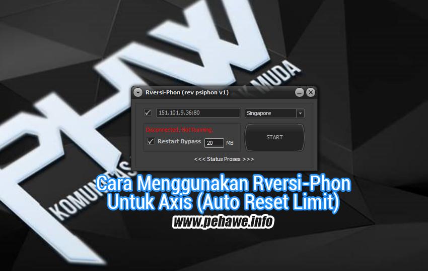 Trik Rversi-Phon Untuk Axis (Auto Reset Limit)