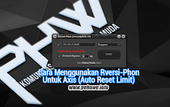 Update Cara Menggunakan Rversi-Phon Final Untuk Axis