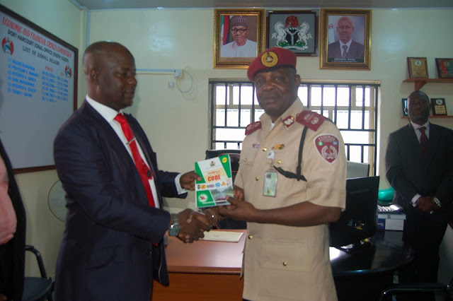 Image result for FRSC pledges support for EFCC