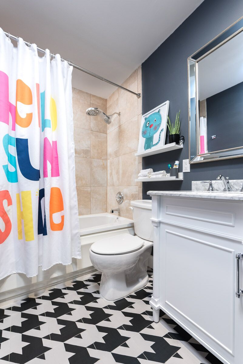 A Weekend Bathroom Makeover With The Home Depot