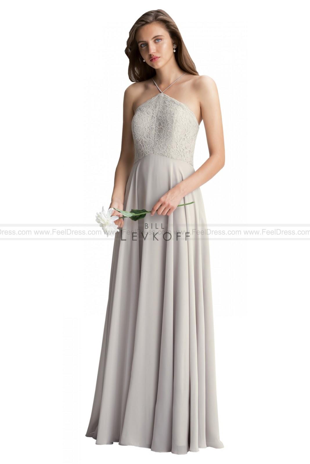 a96f63f1f78d 2016 cheap wedding dresses: Bill Levkoff Bridesmaid Dresses lace ...
