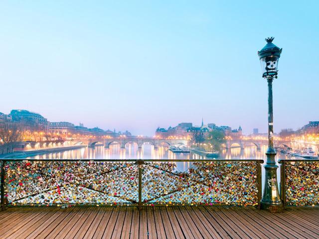 Ponte das Artes em Paris