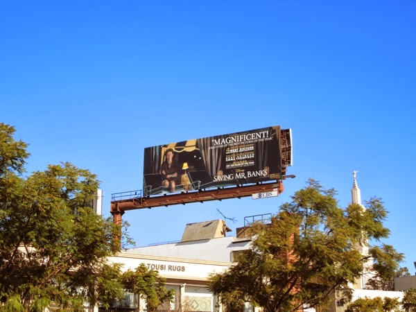 Saving Mr Banks awards billboard