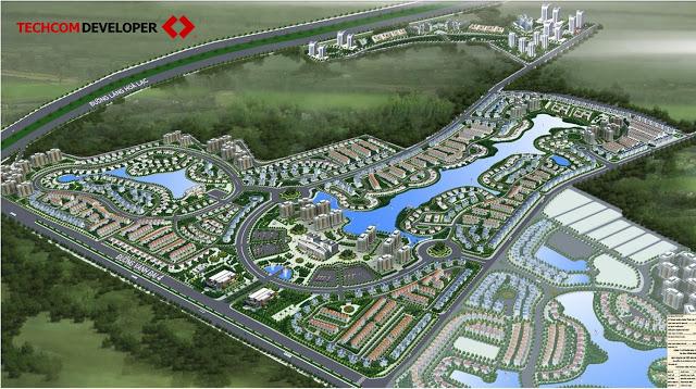 Phối cảnh dự án Master Villas Nam An Khánh