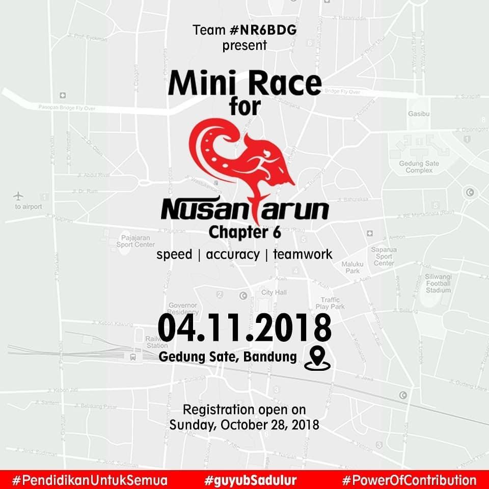 Mini Race for NusantaRun 6 • 2018