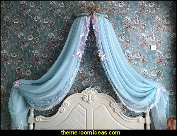 Bow-Knots Canopy Girls Bed  Bed canopy -  Bed Canopies - Bed Crown - Mosquito Netting - Bed Tents - Canopy Beds - Post Bed Canopies - Luxury Canopy netting   - girls bed canopy - Bed Curtains - Curtain Canopy - Canopy Play Tent - Princess canopy - moon stars canopy -  princess bed crown -