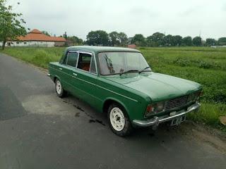 Jual Sedan Antik Dari Italia Fiat 125 Surat Lengkap Ndan..